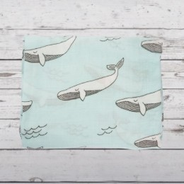 White Fish Swaddle