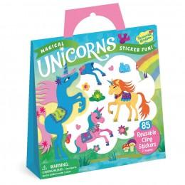 Peaceable Kingdom - Reusable Sticker Tote - Magical Unicorns