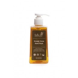 Rustic Art Organic Orange Neem Hand Wash - 245ml
