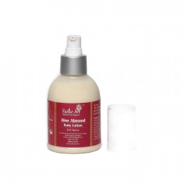 Rustic Art Organic Aloe Almond Baby Lotion - 150 ml