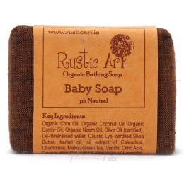 Rustic Art Baby Soap - 100gm