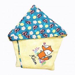 Hooded Towel- Cute Fox