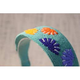 Flower Bloom Beads Headband