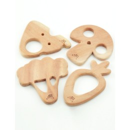 Wooden Teethers - Vegetables