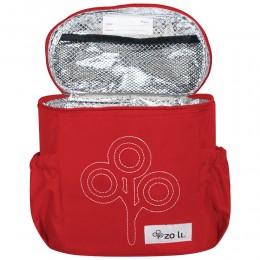 ZoLi NOM NOM Insulated Lunch Bag - Red