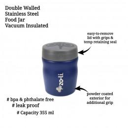ZoLi POW DINE Stainless Steel Insulated Food Jar - Navy