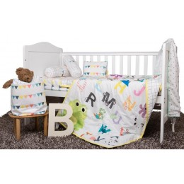 ABC Cot Bedding Set