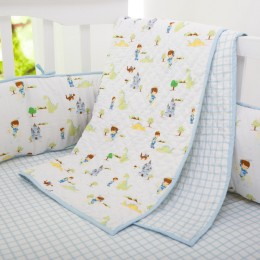 Adventures of a prince organic reversible quilt