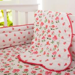 Blossoms organic bedding