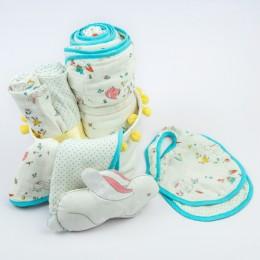 Favorite essentials organic muslin gift hamper (Bunny)