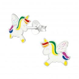 Flying Unicorn Earring