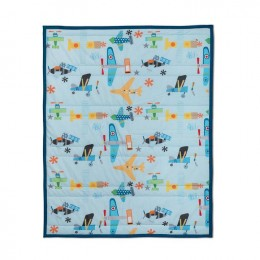 Just Plane Cute Quilted Blanket