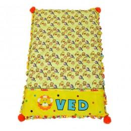 Jungle animal mattress set