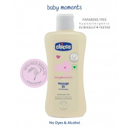 Chicco - Baby Moments Massage Oil 200 ml