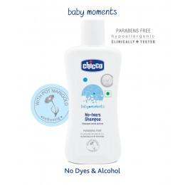 Chicco Baby Moments No Tears Shampoo - 200 ml
