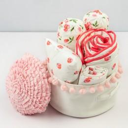 Rockabye baby organic crib gift hamper (Blossoms)