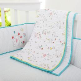 Snuggle bunny organic bedding