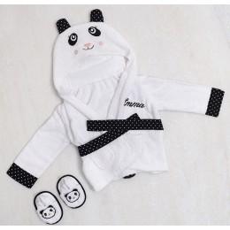 "Spa time"" new born gift set (Panda)"