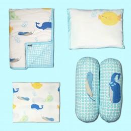 Underwater Animals Cot Bedding Set