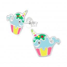 Whalecorn Earrings