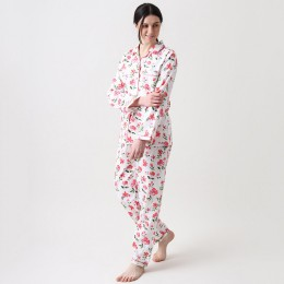 Women organic blossoms pajama set