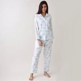 Women organic clouds pajama set