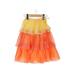 Tiered skirt with crop top