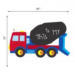 Talk with Chalk Dump Truck : Chalk Decals