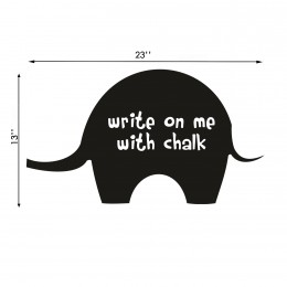 Talk with Chalk Elephant : Chalk Decals