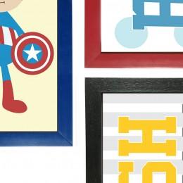 Superheroes Washroom Frames