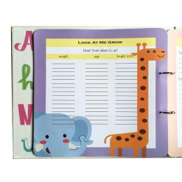 Baby First Year Journal Book - Elephant