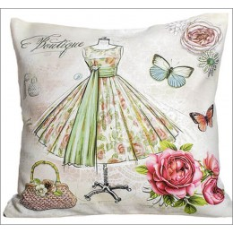 Pink Pirouette Cushion Covers