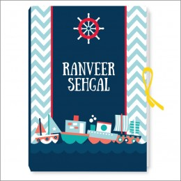 Sailing With Love Notebook - Personalized