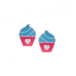 Blueberry Cupcakes Studs
