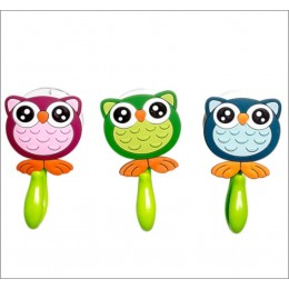 Towel Hooks -Hanging Out With The Owl