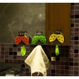 Towel Hooks- Little Ladybirds