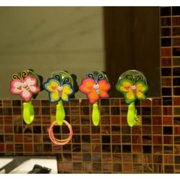 Towel Hooks- Buzzin Butterflies