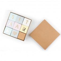 Stack Your Name - Letter Blocks (Price per block)