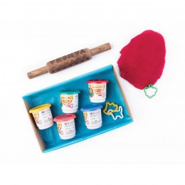 Play - Dough Kit With Personalize Rolling Pin