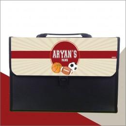 Sports Theme Folder - Personalized