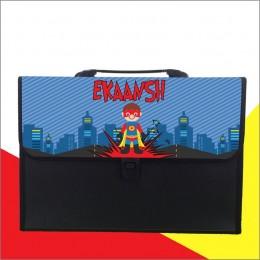 Superhero Theme Folder - Personalized