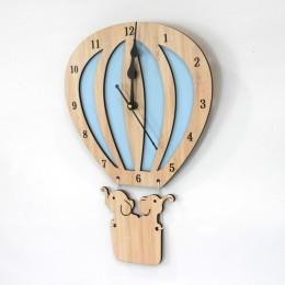 Hot Air Balloon Clock - Sky Blue