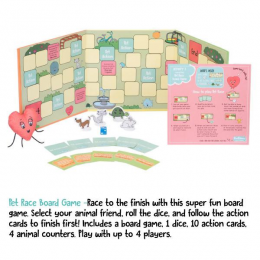 Race To The Finish Activity Box