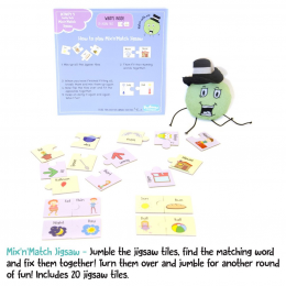 Word Jigsaw Activity Box