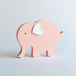 Little Ellie Shelf Decor - Pink