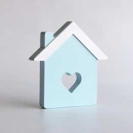 Home Sweet Home - Blue