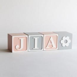 Name Blocks - Vintage |Price Per Alphabet