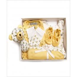 Organic Cotton Gift Set Pack of 6 - Yellow