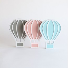 Hot Air Balloon -Pink