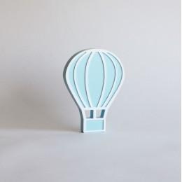 Hot Air Balloon -Blue